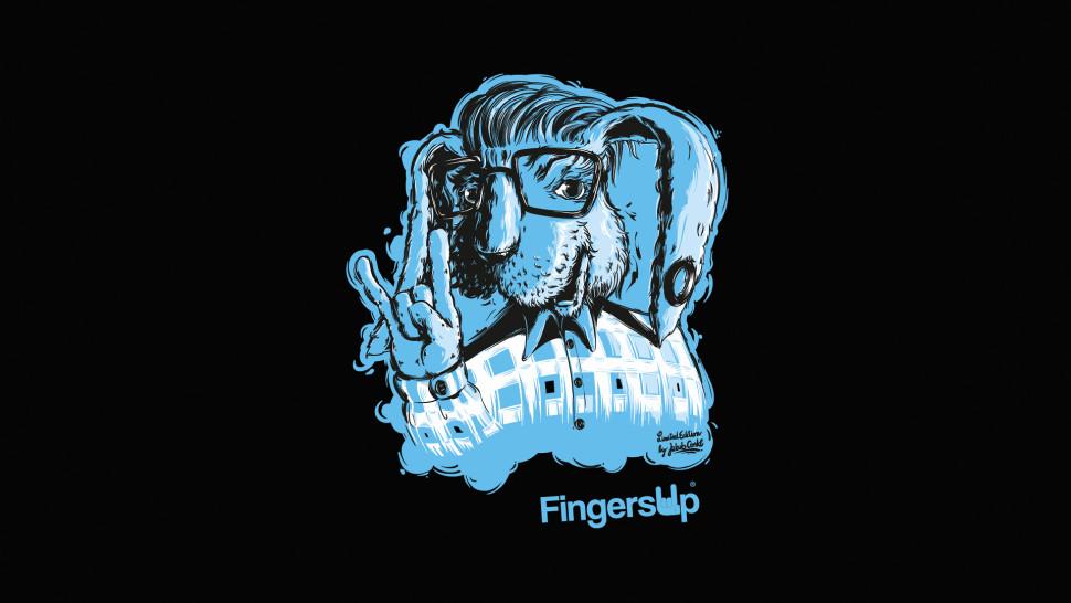 Fingers-Up_Zajíc_detail